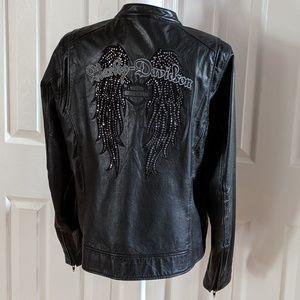 Harley Davidson Leather Angel Wings jacket